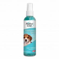 8in1 средство для собак PC Freshening Spray спрей освежающий с ароматом детской присыпки 118 мл