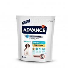 Advance - Корм для щенков с чувствительным пищеварением, лосось и рис (Sensitive Puppy)
