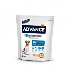 Advance - Корм для взрослых собак малых пород, с курицей и рисом  (Mini Adult)