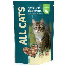 All Cats - Паучи с кроликом для кошек