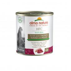 Almo Nature - Консервы для кошек с курицей и тунцом (HFC Natural Chicken With Tuna)