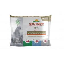 Almo Nature - Набор консервов для кошек с тунцом 6*55гр