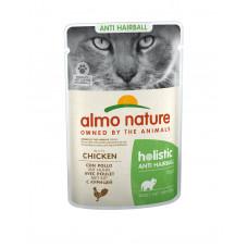 Almo Nature - Паучи с курицей для вывода шерсти у кошек
