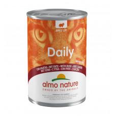 "Almo Nature - Консервы для кошек ""Меню с Уткой""(Daily Grain Free Recipe With Duck)"
