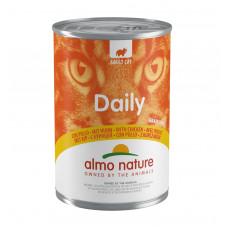 "Almo Nature - Консервы для кошек ""Меню с Курицей"" (Daily Grain Free Recipe With Chicken)"
