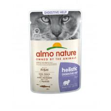 Almo Nature - Паучи с рыбой для кошек для улучшения работы кишечника