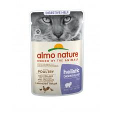 Almo Nature - Паучи с птицей для кошек для улучшения работы кишечника