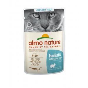 Almo Nature - Паучи с рыбой для профилактики мочекаменной болезни у кошек