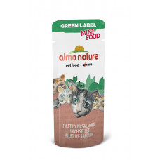 "Almo Nature - Лакомство для кошек ""Филе Лосося"", 99% мяса"