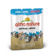 Almo Nature - Колбаски для кошек «Курица» (Azul Label Snack Cat Chicken) 3шт.