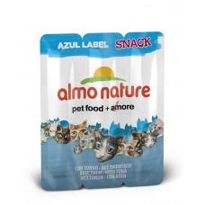 Almo Nature - Колбаски для кошек «Тунец» (Azul Label Snack Cat Tuna) 3шт.