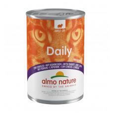 "Almo Nature - Консервы для кошек ""Меню с Кроликом"" (Daily Grain Free Recipe With Rabbit)"