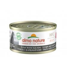 Almo Nature - Консервы для кошек с тунцом и кальмарами (Legend HFC Adult Cat Tuna&Squid)