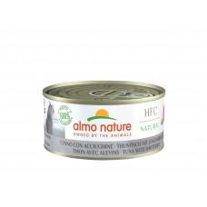 Almo Nature - Консервы для кошек с тунцом и сардинками (HFC Natural - Tuna with Whitebait)