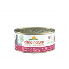 Almo Nature - Консервы для кошек с курицей и тунцом (HFC Natural - Tuna and Chicken)
