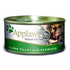 Applaws - Консервы для Кошек с филе Тунца и морской капустой (Cat Tuna Fillet & Seaweed)