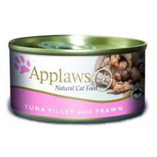 Applaws - Консервы для Кошек с филе Тунца и Креветками (Cat Tuna Fillet & Prawn)