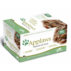 """Applaws - Набор для Кошек """"Рыбное ассорти"""": 8шт.*60г (Cat Fish Selection MP)"""