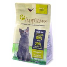 """Applaws - Беззерновой для Пожилых кошек """"Курица/Овощи: 80/20%"""" (Dry Cat  Senior)"""