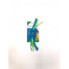 Feline Clean игрушка для кошек конфетка прорезыватель с лентами, резина (Dental)