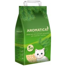 AromatiCat - Древесный впитывающий наполнитель, 5л