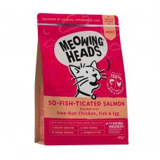 """Barking Heads - Для Взрослых кошек с Лососем, курицей и рисом """"Фиш-гурман"""""""