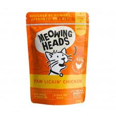 """Barking Heads - Паучи для кошек и котят с курицей и говядиной """"Куриное наслаждение"""""""