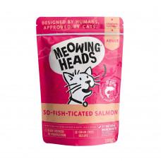 """Barking Heads - Паучи для кошек и котят с лососем, курицей и говядиной """"Фиш-гурман"""""""