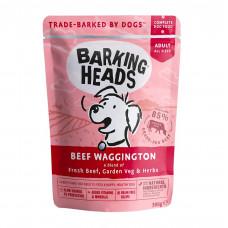 """Barking Heads - Паучи для собак с говядиной   """"Вуф-строганов"""""""
