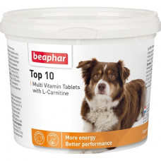 Beaphar - Top 10 For Dogs Пищевая добавка с L-карнитином для собак
