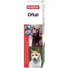 Beaphar -Oftal Средство для чистки глаз и удаления слезных пятен.