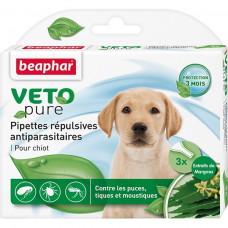 Beaphar -Капли БИО от блох и клещей для щенков