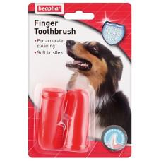 Beaphar - Beaphar Двойная зубная щетка на палец