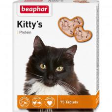 Beaphar - Кормовая добавка Kitty's + Protein с протеином для кошек