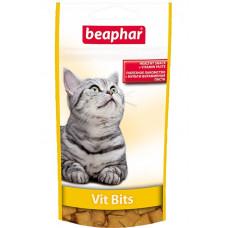 Beaphar - Подушечки Vit Bits с мультивитаминной пастой для кошек