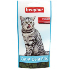 Beaphar -Cat-A-Dent Bits Подушечки для чистки зубов кошек