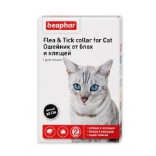 Beaphar - Ошейник от блох и клещей для кошек черный