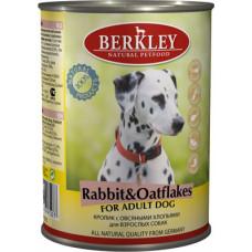 Berkley - Консервы для собак с кроликом и овсянкой (Adult Rabbit&Oatflakes)