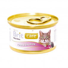 Brit - Консервы для кошек с тунцом и лососем (Tuna&Salmon)