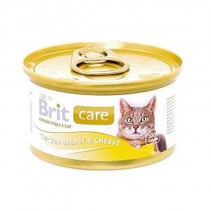 Консервы для кошек с куриной грудкой и сыром (Chicken Breast& Cheese)