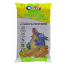 Cliffi - Лакомства для Птиц: яичный бисквит с тропическими фруктами
