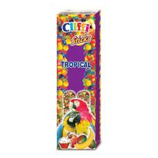 Cliffi - Лакомства для крупных Попугаев: Палочки с  фруктами и медом