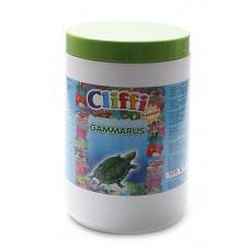 Cliffi - Для черепах, большие сушеные креветки, 1000мл