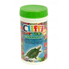 Cliffi - Для черепах, средние сушеные креветки, 1000мл