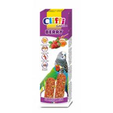 Cliffi - Лакомства для волнистых попугаев и экзотических птиц: палочки с лесными ягодами и медом Selection Berry