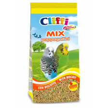 Cliffi - Смесь отборных семян для волнистых попугаев с бисквитом