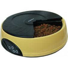 Feedex - Автокормушка на 4 кормления для 1,-1,2кг корма Желтая