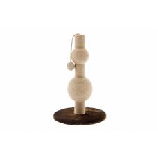 Ferribiella - Игровая когтеточка-столбик с мячиком 30X30X48 см
