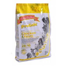 Franks Pro Gold - Для собак Беззерновой: с курицей и Молодым картофелем