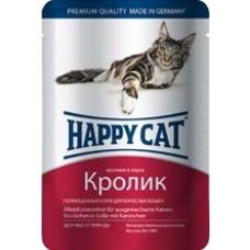 Happy cat - Кусочки в соусе с кроликом